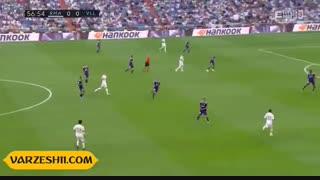 خلاصه بازی رئال مادرید 1_1 رئال وایادولید (هفتۀ 2 لالیگا اسپانیا)