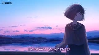 nightcore ~knees /lyrics