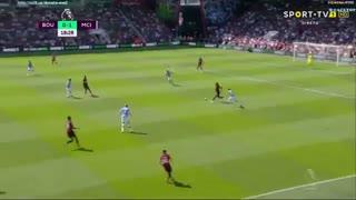 خلاصه بازی  بورنموث 1 - منچسترسیتی 3 ( لیگ برتر انگلیس )