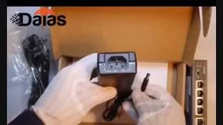 unboxing hikvision ds-3e0105p