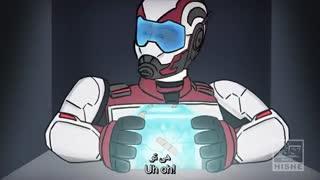 کاپیتان امریکا سنگ ها را چگومه در اخر فیلم انتقام جویان برگرداند(A_N Group)