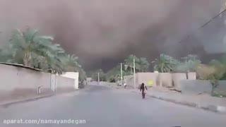 هجوم ریز گردها  به گنبکی ریگان و فرار مردم
