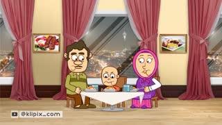 مجموعه انیمیشن دردونه ها - بد غذایی
