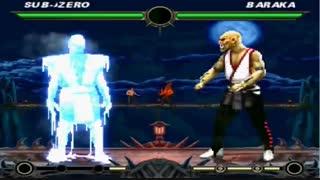 14 دقیقه گیم پلی بازی مورتال کمبت Mortal Kombat 2 HD 1995 برای کامپیوتر