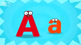 آموزش الفبای انگلیسی با شعر برای کودکان - حرف A