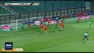 گلهای هفته دوم لیگ برتر فوتبال