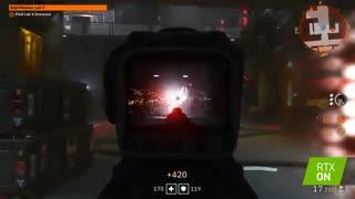 ویدئوی بازی Wolfenstein Youngblood در حالت رِی تریسینگ با توضیح سیستم ادپتیو شیدینگ انویدیا