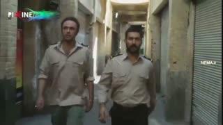 فیلم سد معبر سکانس درگیری مامورین شهرداری با فروشندههای خیابانی