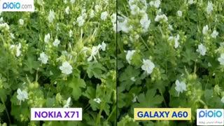 مقایسه دوربین گوشی های Samsung Galaxy A60  و NOKIA X71