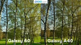 مقایسه دوربین گوشی های samsung A60  و samsung A40