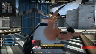خلاصه بازی Vitality VS mousesports  نقشه Vertigo در Starladder Major Berlin 2019