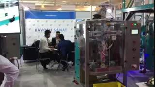 ماشین آلات بسته بندی کاوش صنعت در نمایشگاه اگروفود