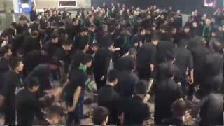 moharram98-08-عزاداری هیئت مسجد جوادالائمّه درحسینیه صاحب الزّمان (عج)-بهاباد یزد