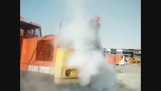 کارواش بخار ماشین سنگین ماشین های راه سازی