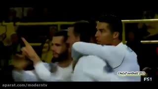 تمام گل های رونالدو در لیگ قهرمانان