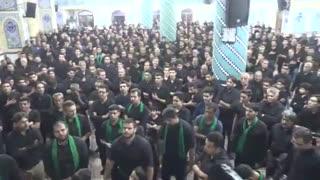 28-عزاداری شب هشتم محرّم 98 هیئت مسجدجامع درحسینیّه اعظم فاطمیّه