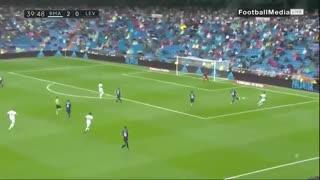 خلاصه بازی رئال مادرید 3 - لوانته 2 ( لالیگا اسپانیا )