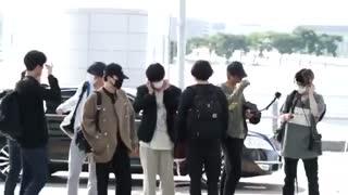 بی تی اس در فرودگاه اینچئون♡