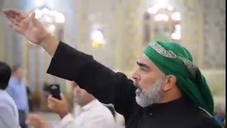 یا امام رضا (ع)، در عوض شفایی که مرا دادی، خادم الحسین (ع) شدم