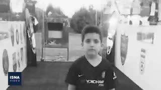 عماد، قربانی خردسال فوتبال