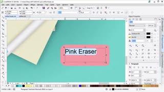 آموزش تکنیک های پیشرفته طراحی در کورل دراو 2