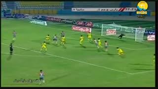 خلاصه بازی پارس جنوبی جم 3 - 2 سایپا