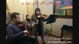 آموزش ویولن در آموزشگاه موسیقی گام