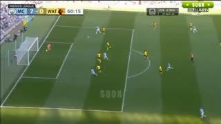 خلاصه بازی منچسترسیتی 8 - واتفورد 0 (لیگ برتر انگلیس)
