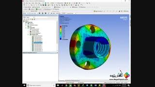 نگارپژوه ::  آنالیز مودال انواع سازه مهندسیansys-workbench