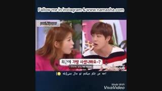 این داستان ؛ کیم سوکجین(جین) و دختران !!!!(bts/jin/kim seokjin/funny moment/kpop)