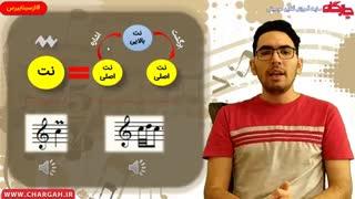 آموزش نت های زینت در موسیقی  - توسط سینا اسحاقی