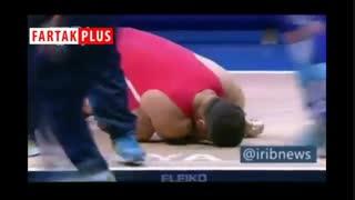 کیانوش رستمی حریف وزنه ۱۸۰ کیلویی نشد