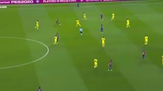 خلاصه بازی بارسلونا 2 - ویارئال 1 (لالیگا اسپانیا)