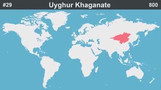 ۱۰۰ امپراتوری بزرگ در طول تاریخ