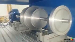 نگارپژوه :: ارتعاشات سیستم دوار در اثر خرابی یاتاقان خرابfault bearing