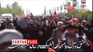 پیام مردم عراق به زائران ایرانی حماسه اربعین