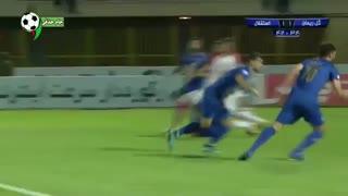 خلاصه بازی گل ریحان 1 - 3 استقلال تهران