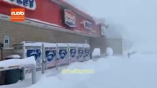این موقع سال؛ این همه برف؟!