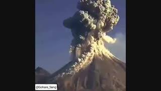 فوران آتشفشان عظیم در شیلی