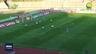 گلهای هفته ششم لیگ برتر فوتبال