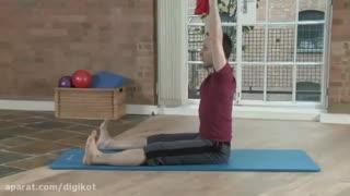 ورزش بانوان برخی تمرینات و حرکات کششی ساده