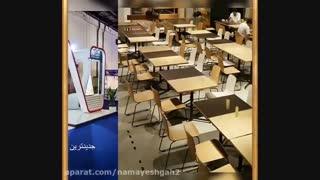 اجاره وسایل و تجهیزات نمایشگاهی و غرفه سازی - اجاره صندلی دسته دار / اموزشی