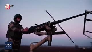 آتش درگیری در مرز ترکیه و سوریه
