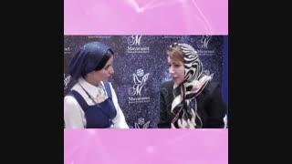 مصاحبه ی دکتر فاطمه سمامی در پانزدهمین کنگره ی بین المللی زنان و مامایی ایران