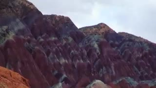 کوههای رنگی ماهنشان - استان زنجان