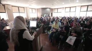 سخنرانی دکتر شیرین شمس در کنگره پانزدهمین کنگره زنان و مامایی