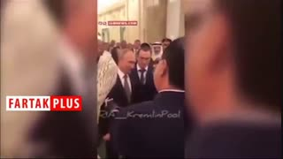 هدیه عجیب و متفاوت پوتین به پادشاه عربستان!