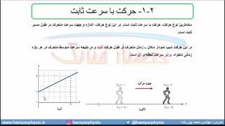جلسه 25 فیزیک دوازدهم-حرکت با سرعت ثابت 1-مدرس محمد پوررضا