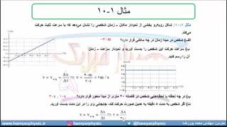 جلسه 26 فیزیک دوازدهم-حرکت با سرعت ثابت 2-مدرس محمد پوررضا