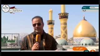 سوتی عجیب خبرنگار صدا و سیما در محاسبه تعرفه موبایل در ایام اربعین در عراق!